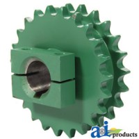 CC106976 - Sprocket, Double; Pickup, 23/23 Tooth