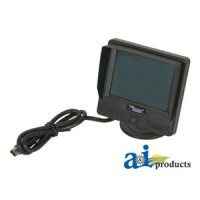 "CC35DTS - Cabcam Wired 3.5"" Digital Color Monitor W/ Mount Bracket/Harness & Accessories"