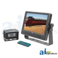 "CTB9M1C - Cabcam Video System, Touch Button Includes 9"" Monitor And 1 Camera"