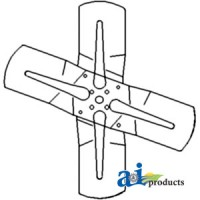 D1JJ8600E - Fan Assembly, 4 Blade