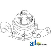FAPN8A513HH - Pump, Water w/ Single Pulley