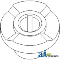 H105590 - Slip Clutch Hub, Feeder House