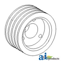 H118616 - Pulley; Slow Speed Cylinder