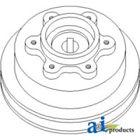 H131170 - Pulley, Sieve & Chaffer Drive