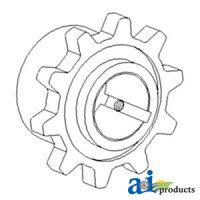 H159613 - Sprocket, Feeder House Shaft, Upper