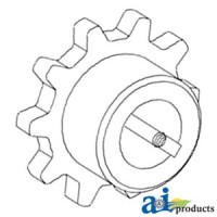 H159615 - Sprocket, Upper Feederhouse Outer
