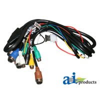 HNS22P - Cabcam 22 Pin Power Harness, Quad Monitor