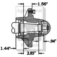 HS350066 - Hub & Spindle Assy.