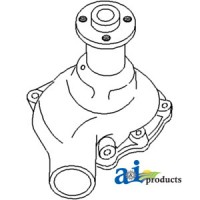 HS350A - Water Pump w/o Pulley