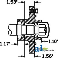 HS356066 - Hub & Spindle Assy.