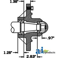 HS450088 - Hub & Spindle Assy.