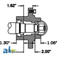 HS457066 - Hub & Spindle Assy.