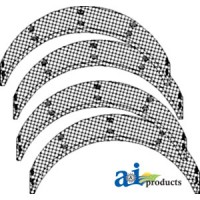 JT9170 - Brake Lining Kit (Set of 4 w/ Rivets)