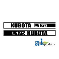 KL175 - Hood Decal Set