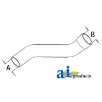 L58801 - Radiator Hose, Upper