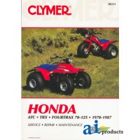 M455 - CLYMER ATV Manual - Honda
