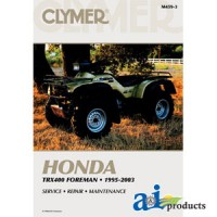 M459-3 - Clymer Atv Manual - Honda