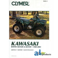 M465-3 - Clymer ATV Manual - Kawasaki