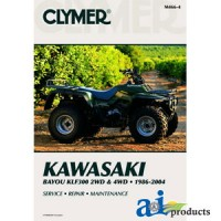 M466-4 - Clymer ATV Manual - Kawasaki