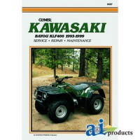 M467 - Clymer ATV Manual - Kawasaki