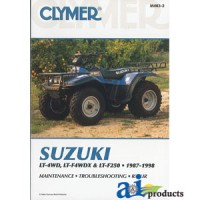 M483-2 - Clymer Atv Manual-Suzuki