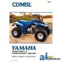 M487-5 - Clymer ATV Manual - Yamaha
