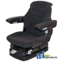 MSG95GGRC-ASSY - Grammer Seat Assembly, Charcoal Matrix; Cloth