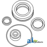 N158563 - Seal Kit Incls: pilot brg, sealed release brg, PTO seal