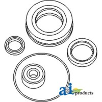 N159763 - Seal Kit Incls: pilot brg, greaseable release brg, PTO