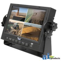 "QM7127R - CabCAM 7"" LCD TFT Color Quad Monitor"