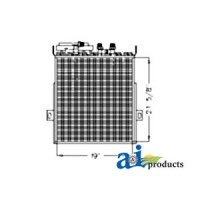 RE55139 - Oil Cooler/Condenser