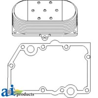 RE56690 - Cooler, Engine Oil, w/ Gaskets, 7 Plate