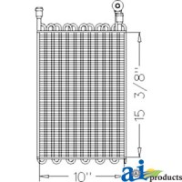 RE57574 - Evaporator / Heater Core