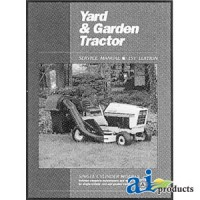 SMYGT11 - Yard & Garden Tractor Service Manual, Volume 1