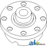 T30253 - Housing, Differential,7/16 rivit hole size