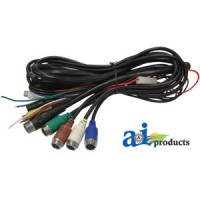 TB22PH - Cabcam 22 Pin Power Harness, Touch Button Monitor