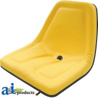 TMS444YL - Seat, Michigan Style, w/ Slide Track, YLW