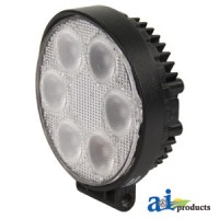 WL100 - Work Lamp, Led, Flood, Round