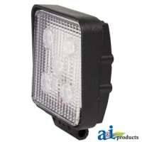 WL125 - Work Lamp, Led, Flood, Square
