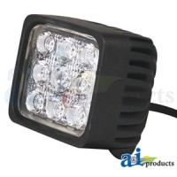 WL895 - Work Lamp, Led, Square, Combination Flood / Trapezoid Light Pattern