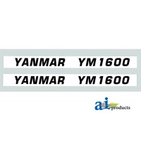 Y102B - Hood Decal Set