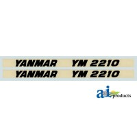 Y2210 - Hood Decal Set